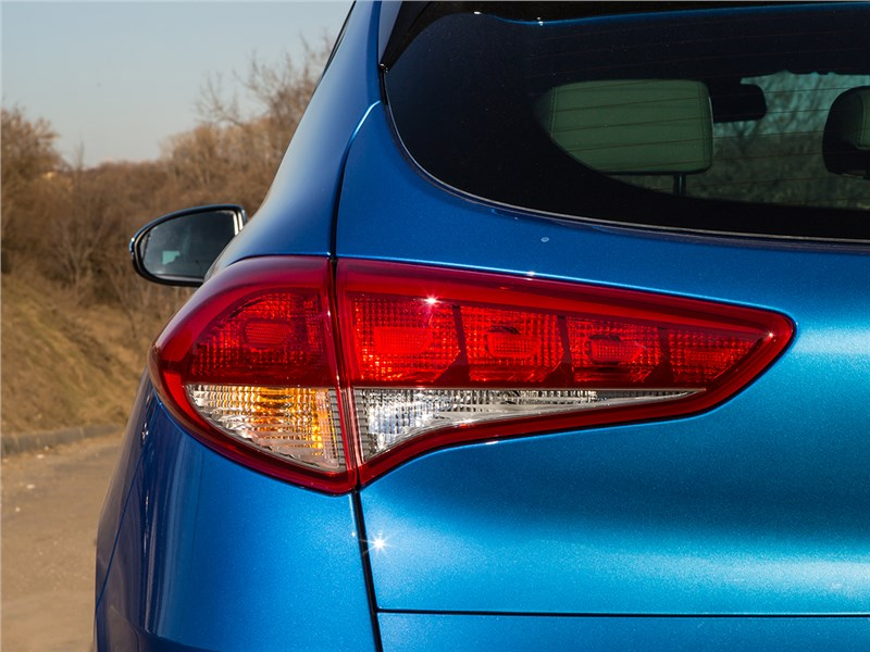 Лампы задних фар Hyundai Tucson 2016