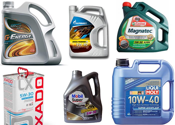 моторное масло для Hyundai Tucson с 2015 г