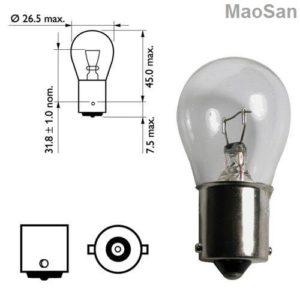 Лампы применяемые в Renault Captur