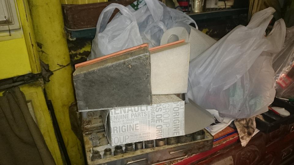 воздушный фильтр рено дастер