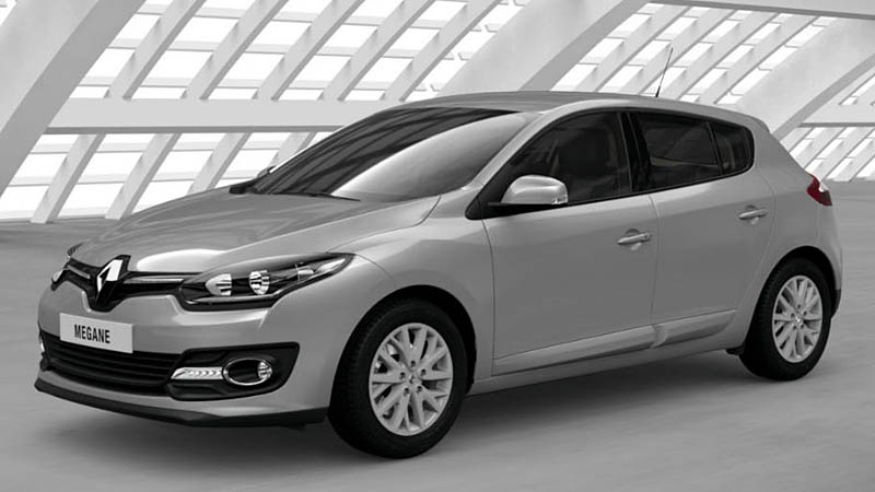 Замена ламп ближнего света Renault Megane 3
