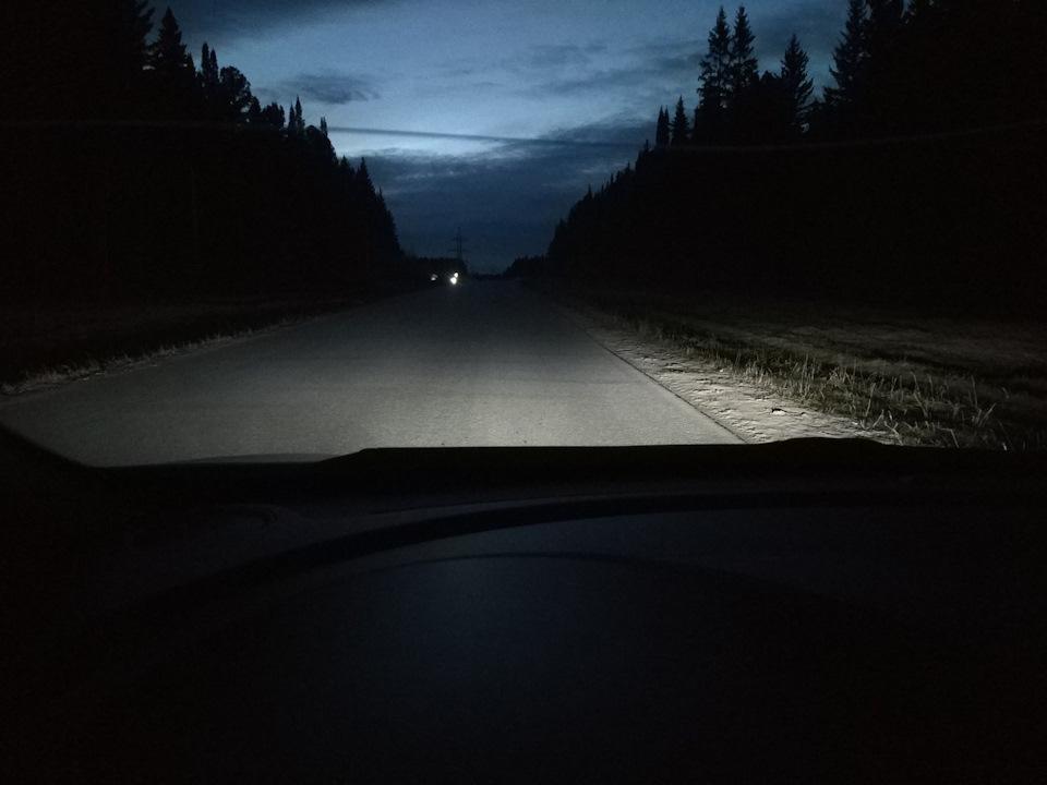 LED лампы в птф Cerato 3