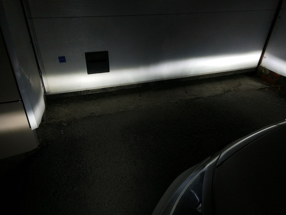 Светодиодные лампы в противотуманки Kia Cerato 3