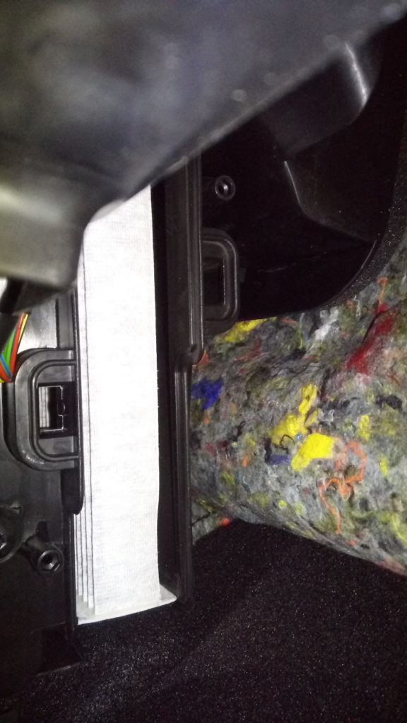 салонный фильтр Renault Kaptur замена