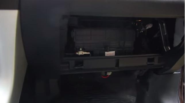 как заменить фильтр салона lifan X60