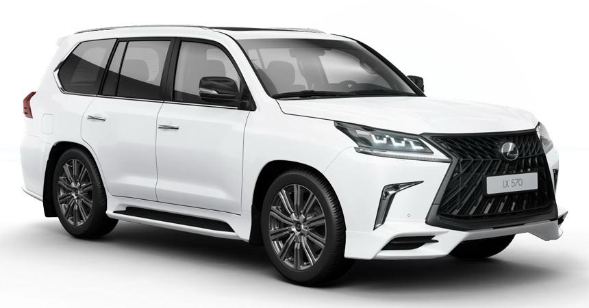 Спецверсия Lexus LX 570 Superior за 7 млн рублей