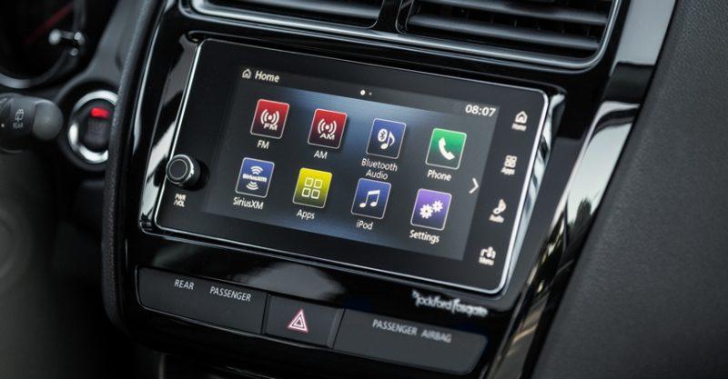 мультимедийная система Mitsubishi ASX 2018