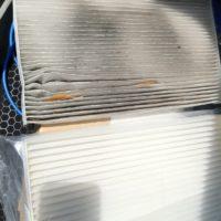 Замена салонного фильтра Skoda Rapid