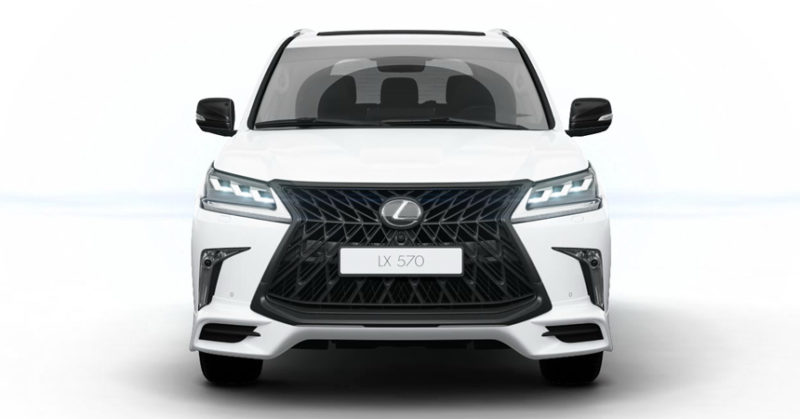 вид спереди Lexus LX 570 Superior