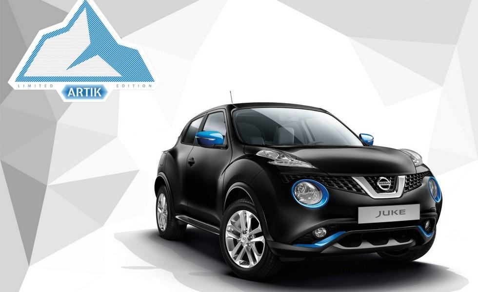 Новая модификация Nissan Juke Artik