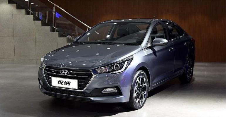 Лампы применяемые в Hyundai Solaris 2 с 2017 г.в.