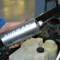 Замена тормозной жидкости Nissan Qashqai