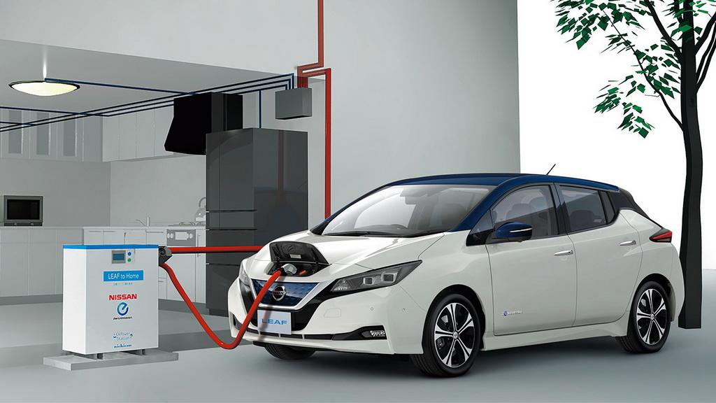 Nissan Leaf 2018 аккмуляторы