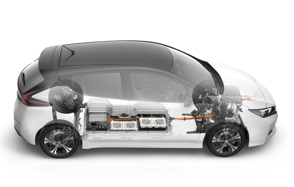 Nissan Leaf 2018 новое поколение