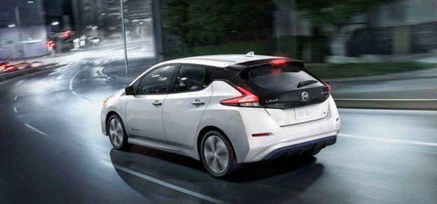Nissan-leaf-2018 новое поколение