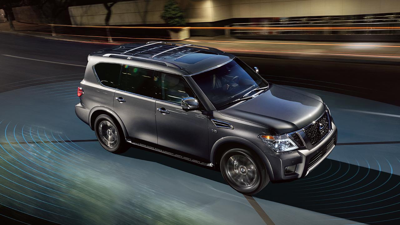 Обновленный Nissan Armada 2018 модельного года Platinum Reserve