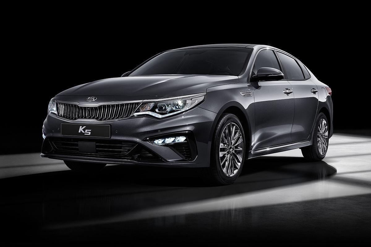 В Южной Корее показали новый Kia Optima