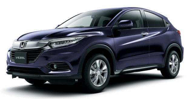 Honda Vezel обновленный 2018