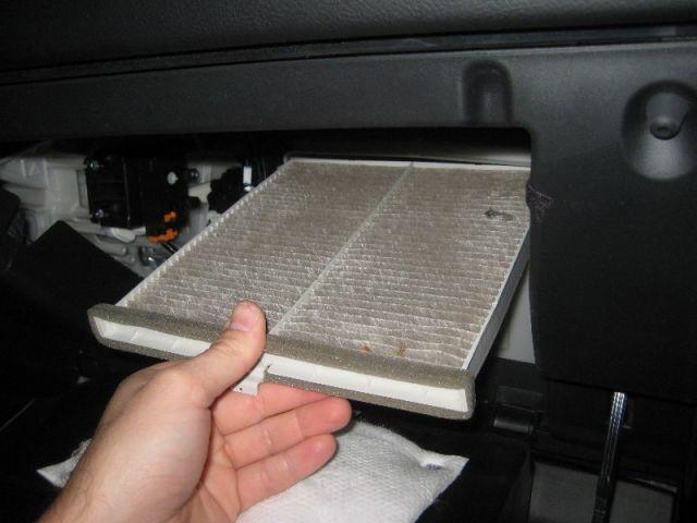 Mazda 6 GJ салонный фильтр