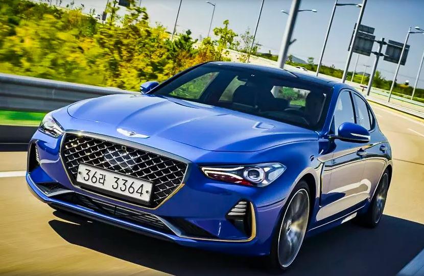 Новый седан Genesis G70 приедет в Россию в апреле