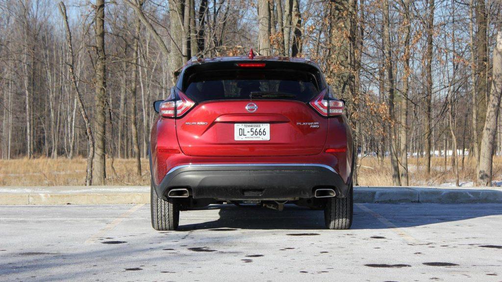 Обновленный Nissan Murano 2018