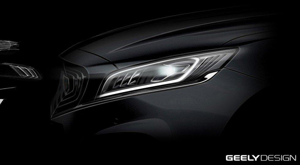 Представлены фото спортивной версии Geely Emgrand GT