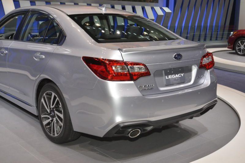 Subaru Legacy 6 поколения