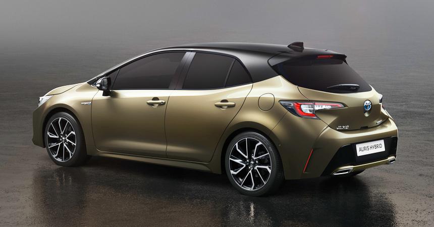 Toyota Auris 2018 3 поколения