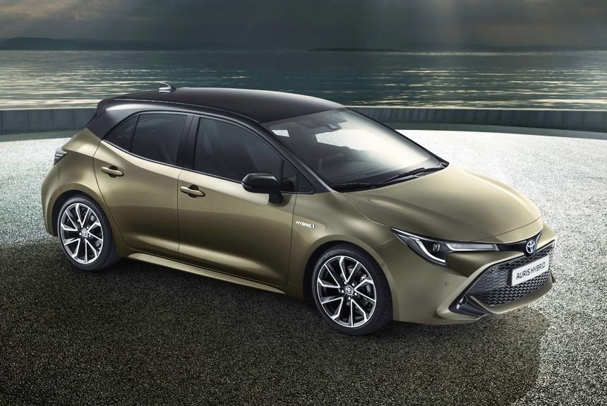 Представлено новое поколение Toyota Auris 2018