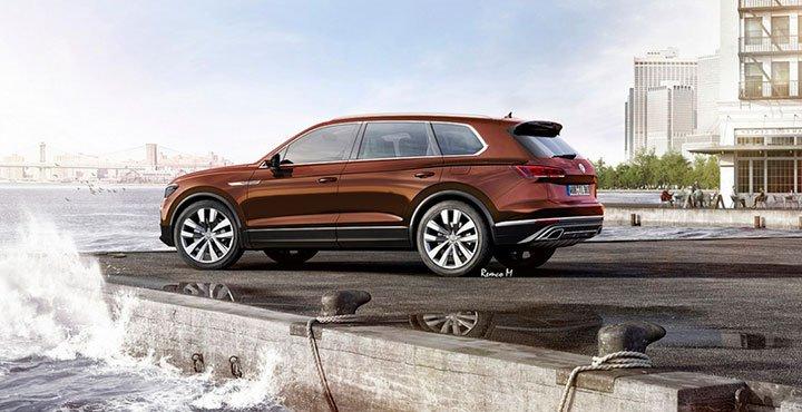 Volkswagen Touareg 2018 третьего поколения
