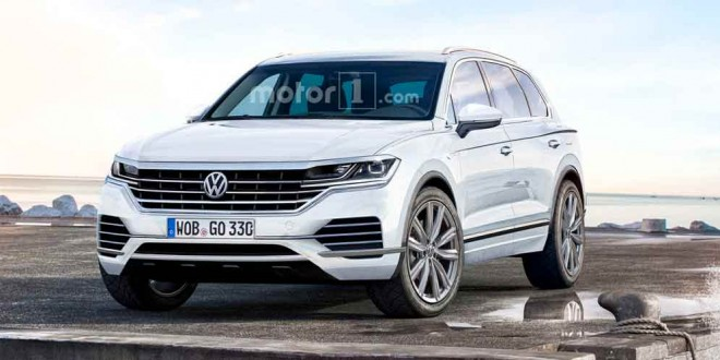 Volkswagen Touareg 2018 новые тизеры и фото модели