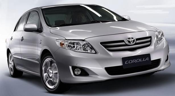 Как заменить лампу противотуманной фары Toyota Corolla 150