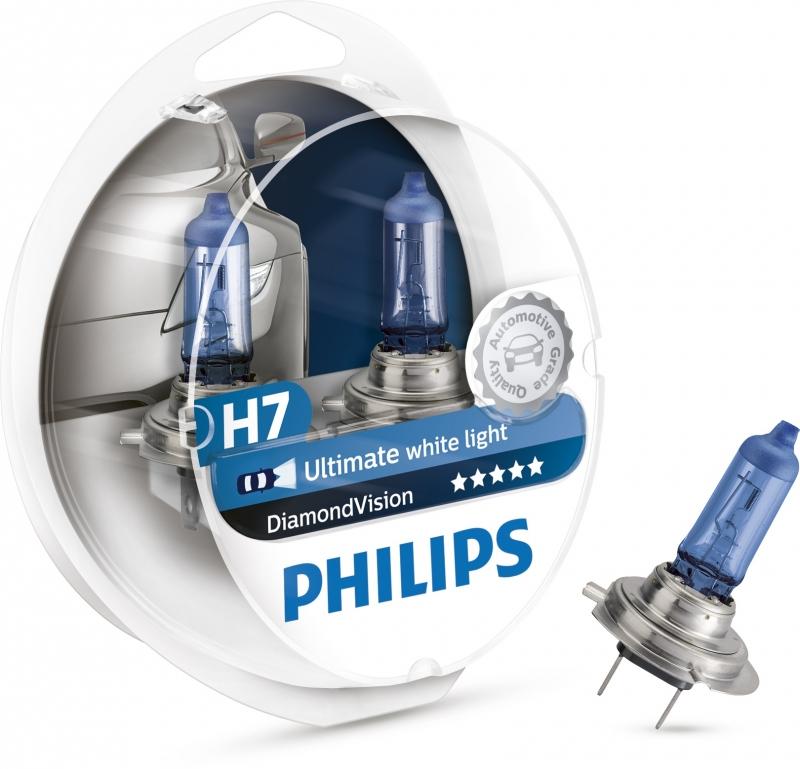 лампа h7 5000к