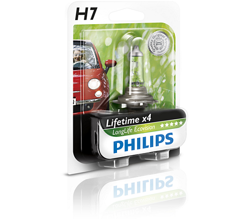 лампы H7 long life блистер