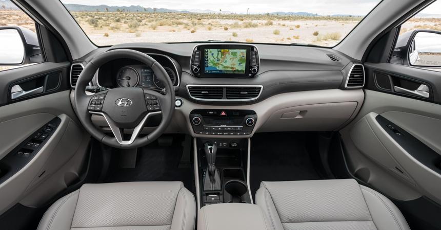 салон Hyundai Tucson 2018