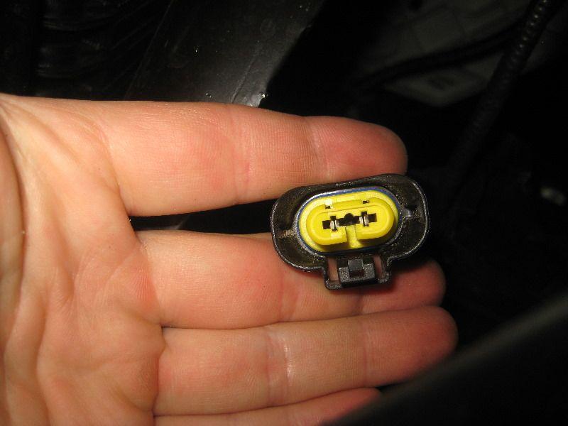 замена ламп птф Nissan Pathfinder R52