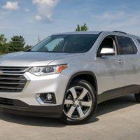 Внедорожник Chevrolet Traverse в России цена и комплектации