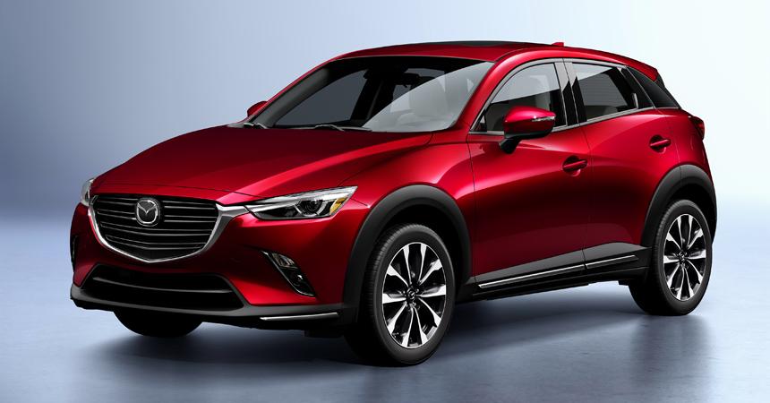 Mazda CX-3 2018 обновленныйMazda CX-3 2018 обновленный