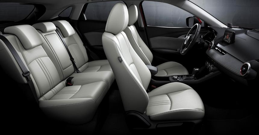 Новый Mazda CX-3 2018 салон