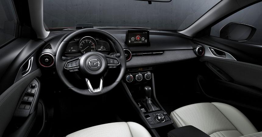 Салон Mazda CX-3 2018