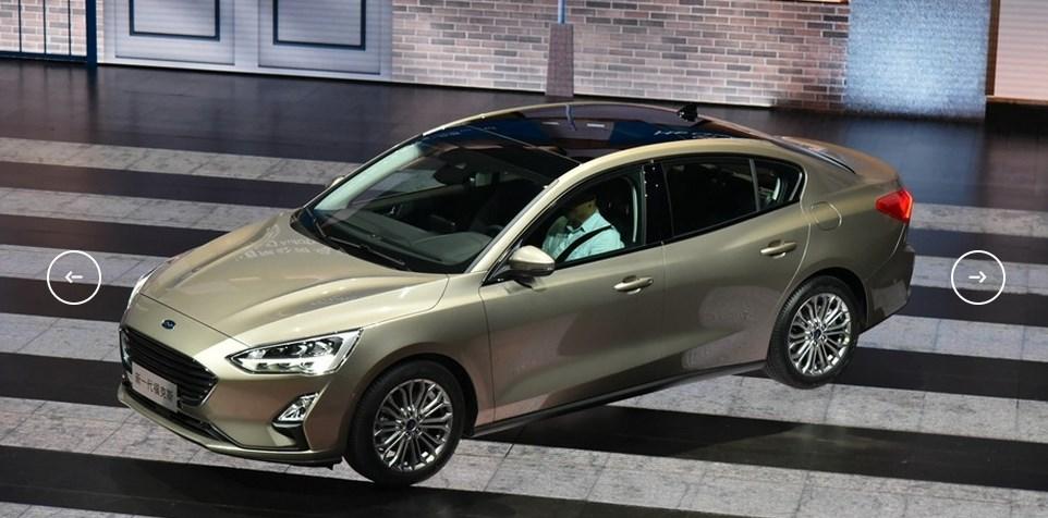 Седан Ford Focus 2018