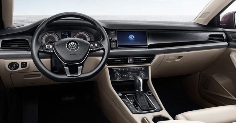 Седан Volkswagen Lavida Plus салон