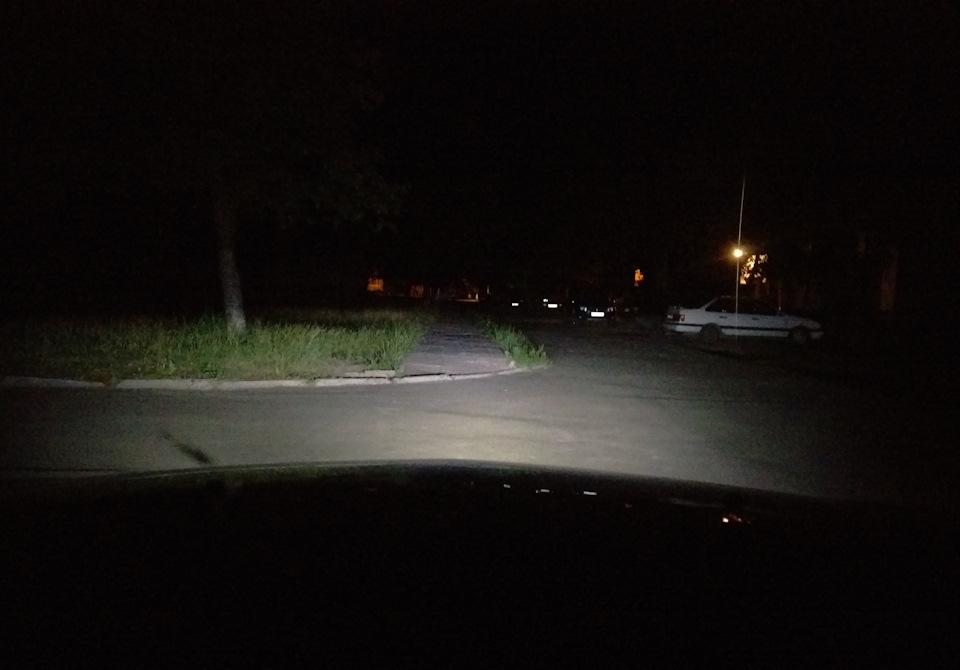 Светодиодные лампы H4 в Шевроле круз