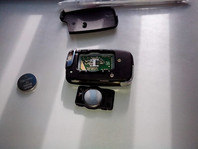 батарейки CR 2032 для ключа эмгранд X7