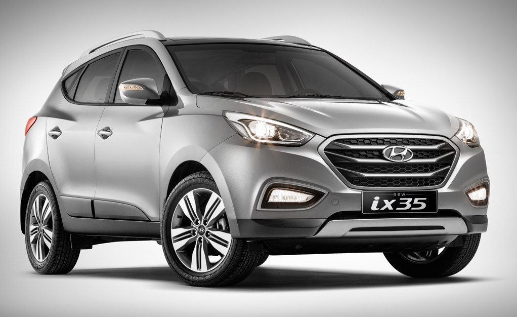 Hyundai ix35 лампы