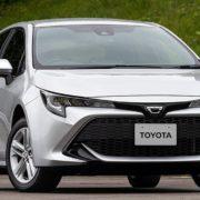 Новое поколение хэтчбека Toyota Corolla 2018