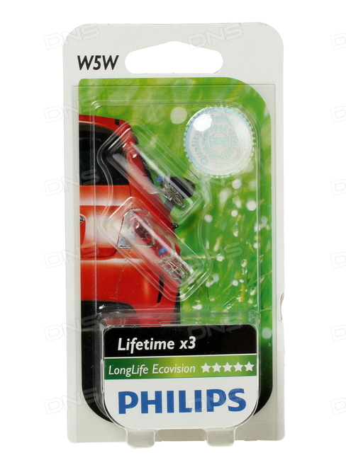 Philips W5W LongLife EcoVision