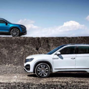 Новый кроссовер VW Tayron для китайского рынка