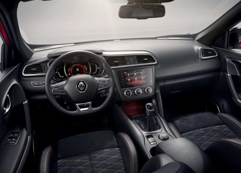 Renault Kadjar 2019 салон