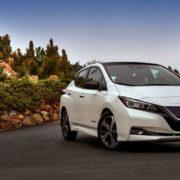 Обновленный Nissan Leaf 2019 появится в России
